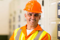 Company technical worker Royalty Free Stock Images