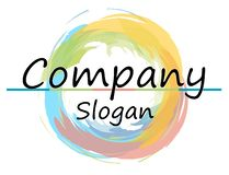 Company  and illustration royalty free illustration