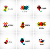 Company vector logo branding elements Royalty Free Stock Photo