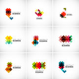 Company vector logo branding elements Royalty Free Stock Image