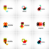 Company vector logo branding elements Royalty Free Stock Images