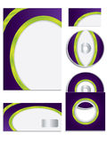 Company Vector set with vivid colors Stock Photos