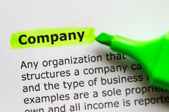 Company Royalty Free Stock Images