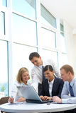 Company working Stock Photo