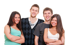 Company of young people Royalty Free Stock Photography