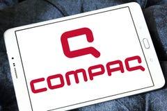 Compaq-embleem stock afbeeldingen