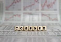 Compare Stock Photo