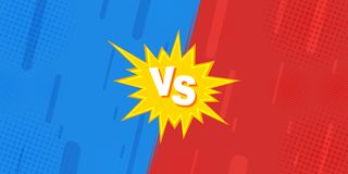Compared to VS sheets, the fight against backgrounds in flat-panel comic design is made of halftone, lightning royalty free illustration