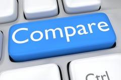 Comparez le concept Photos libres de droits