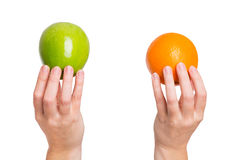 Comparison and differentiation Stock Image