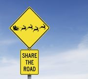 Comparta el camino Imagen de archivo libre de regalías