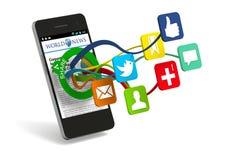 Compartecipazione sociale illustrazione di stock