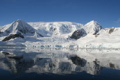 Compartiment Antarctique de Wilhelmina Image stock