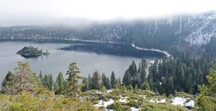 Compartiment d'émeraude de Lake Tahoe Photo stock