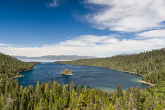 Compartiment d'émeraude de Lake Tahoe Image stock