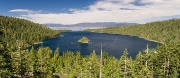 Compartiment d'émeraude de Lake Tahoe Images stock