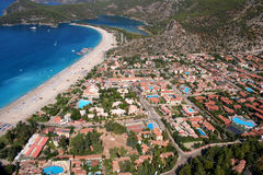Compartiment d'Oludeniz Photographie stock libre de droits