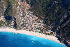 Compartiment d'Oludeniz Image stock
