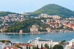 Compartiment dans la ressource de Dubrovnik Photographie stock