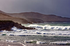 Compartiment de Ballinskelligs Photos stock