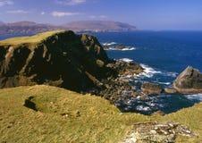Compartiment de Balnakeil, Sutherland, Ecosse Photographie stock