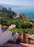 Compartiment de Banderas, Puerto Vallarta Image libre de droits