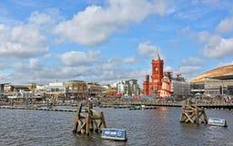 Compartiment de Cardiff pendant la série extrême 2012 de navigation Images stock