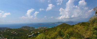 Compartiment de Cruz - saint John (USVI) Photos stock