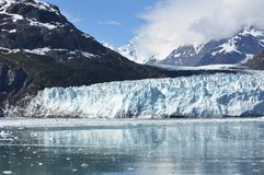 Compartiment de glacier, Alaska Photo libre de droits