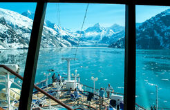 Compartiment de glacier, Alaska Photographie stock libre de droits