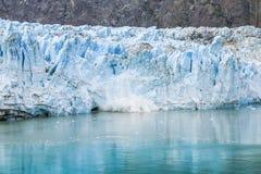 Compartiment de glacier, Alaska Image libre de droits