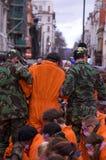 Compartiment de Guantanamo Images libres de droits