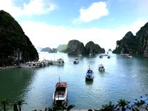 Compartiment de Halong photos stock