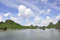 Compartiment de Halong Images stock