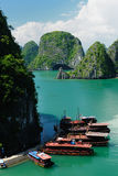 Compartiment de Halong image stock