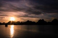 Compartiment de Halong Image stock