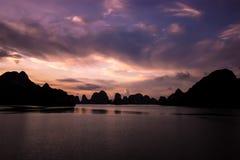 Compartiment de Halong Image libre de droits