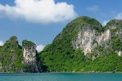 Compartiment de Halong au Vietnam photographie stock