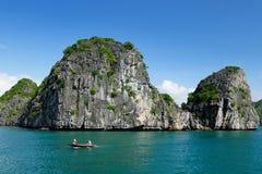 Compartiment de Halong au Vietnam image stock