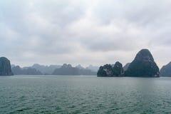 Compartiment de Halong au Vietnam image libre de droits