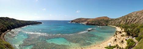 Compartiment de Hanauma, Hawaï Photo stock