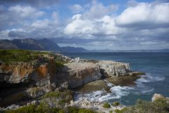 Compartiment de Hermanus Photographie stock libre de droits