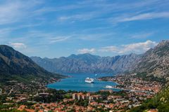 Compartiment de Kotor photos stock