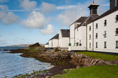 Compartiment de Laphroaig Images libres de droits