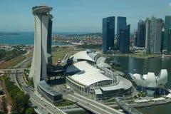 Compartiment de marina, Singapour Image libre de droits
