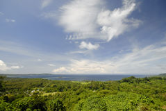 Compartiment de Mele, Vanuatu Images stock