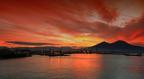 Compartiment de Naples Photos stock