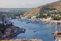 Compartiment de passe-montagne la Mer Noire Photographie stock libre de droits