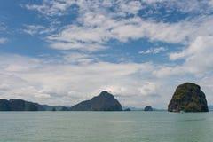 Compartiment de Phang Nga photographie stock libre de droits