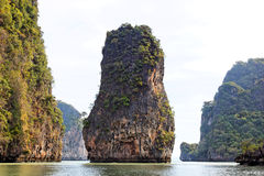 Compartiment de Phang Nga, Thaïlande Images stock